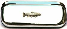 Brown Trout Fishing Pen Case & Ball Point Shooting Gift FREE ENGRAVING POSTAGE