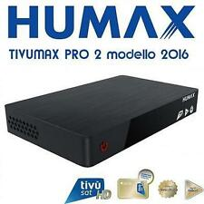 HUMAX Ricevitore digitale satellitare Tivumax HD HD-6600S USB / HDMI