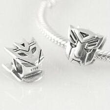TRANSFORMERS Autobot Decepticon - Solid 925 sterling silver European charm bead