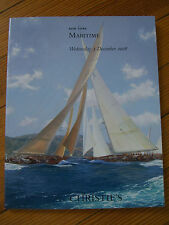 CHRISTIE'S MARITIME ART -New York (Britannia Neiman Grey) 2008