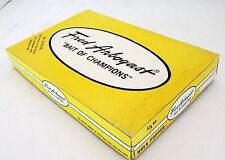 Lot 6 Vintage Arbogast 5/8 oz Hula Popper Lure #750 Retail Dealer Box Frog Flock