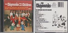 CHIPMUNKS Sing with Children 1985 CD Alvin Simon & Theodore With David Seville