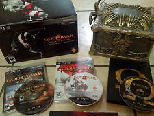 God of War 3 Ultimate Edition, GOW Ascension Steelbook/game, GOW Collection(1&2)