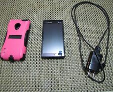 Verizon LG Lucid 2 Cell Phone VS 8-704G- with Pink & Black Cover, Cord & Charger