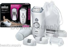 Braun SE7569 Silk-epil 7 Rechargeable Wet & Dry Epilator With Facial Sonic Brush