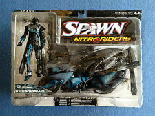 NITRORIDERS FLASH POINT FLASHPOINT SERIES 16 MOTORCYLE & RIDER MCFARLANE SPAWN