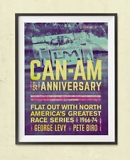 CAN AM 50TH ANNIVERSARY FLAT OUT WITH N AMERICA'S GREATEST RACE SERIES 1966-74