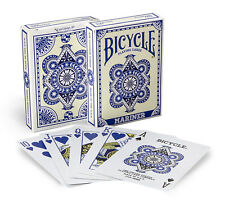1 Deck Bicycle Mariner Blue Standard Poker Playing Cards Brand New Deck