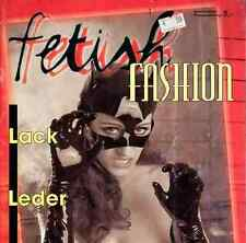 FETISH FASHION LINGERIE german catalogue LATEX LEATHER cuir mask masque curiosa