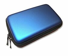 BLUE CARRY CASE PROTECTIVE BAG for NINTENDO 3DS DSi & DS Lite Consoles UK Seller