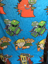 BOB THE BUILDER ROLEY SCOOP MUCK QUILT COVER & PILLOW CASE SINGLE BED SET