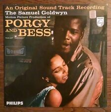 PORGY & BESS Soundtrack LP Philips hi-fi stereo plum label 844-033 Holland OST