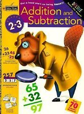 Addition and Subtraction (Grades 2 - 3) (Step Ahead Golden Books Workbook) Gold