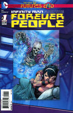 Futures End Infinity Man Forever People #1 3D Cover NM / M New 52 DC 2014 LBX1