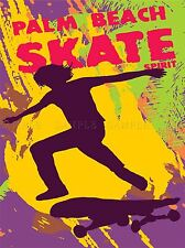 SKATE BOARDING RETRO SPORT VECTOR PHOTO ART PRINT POSTER PICTURE BMP2011A