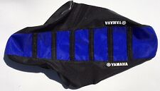 New Yamaha Black & Blue Ribbed Seat Cover YFZ450 QUAD ATV YFZ 450 2004-2009