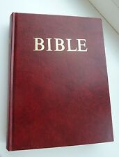 CZECH Bible - with red cover NEW - WHOLESALE BOX 32 PCS (Europe price $490.00)