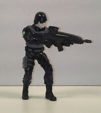 "3.25"" Special S.W.A.T. Black Ops Soldier PVC Plastic Action Figure"
