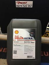 Shell HELIX AG 5w-30 C3 Fully Synthetic Car Engine Oil 20L Dexos 2 ACEA C3