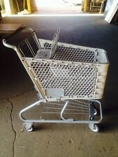 Shopping Carts LOT 10 Mini Dollar Store Small Used Fixtures Gray Plastic Baskets