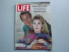 LIFE Magazine October 18 1968 ~ The World Series ~ Paul Newman ~ Bikinis~60s Ads