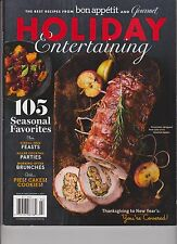 THE BEST RECIPES FROM BON APPETIT & GOURMET 2013, HOLIDAY ENTERTAINING MAGAZINE