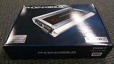 Phoenix Gold Z500.4 500 Watts RMS Z Series 4 Channel Car Audio Amplifier NEW!