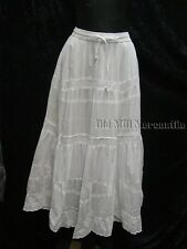 Lace boho Skirt Petticoat slip lined all cotton Old West Victorian style
