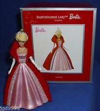 American Greetings Heirloom Ornament Sophisticated Lady Barbie 2013 Flocked Coat