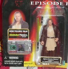 Hasbro Star Wars Episode I Phantom Menace Qui Gon Jinn Naboo Action Action