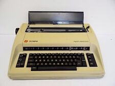 Vintage Used Old Olympia International Report Electronic Typewriter Machine