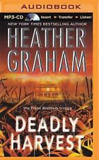 Flynn Brothers Trilogy: Deadly Harvest 2 by Heather Graham (2015, MP3 CD,...