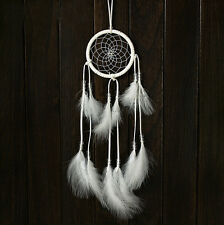 White Dream Catcher Car Decals Indian Wind Chimes Car Home Pendant Accessories