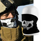 Hot Multi-use Skull Bandana Bike Motorcycle Scarves Scarf Neck Face Mask FO