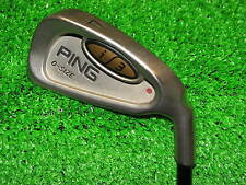 Mens RH PING i3 O-Size Burgundy Dot 4 Iron 350 Series Stiff graphite Golf Club