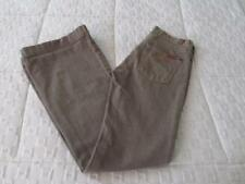 7 FOR ALL MANKIND* OLIVE FLARE JEANS SIZE 25 *MINT* MADE IN USA