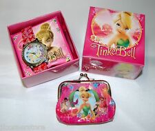 FAVOLOSO OROLOGIO TINKERBELL WATCH & Purse Set Nuovo
