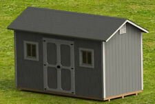 8' x 16' Garden Shed Detailed Building Plans - DIY Plans Only