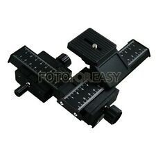 4-Way Macro Focusing Slide Rail For Canon Nikon Pentax