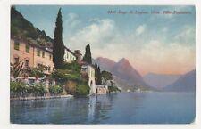 Switzerland, Lago di Lugano, Oria, Villa Fogazzaro Postcard, B210