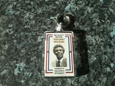 Re-Elect Mayor Goldie Wilson Jumbo Keyring NEW Inspired by Back to the Future
