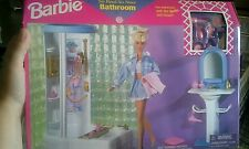 1998 Barbie So Real So Now Bathroom #67555-94 Sealed New in box