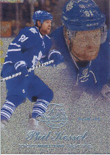 14/15 Fleer Showcase Flair Blue Ice #34 Phil Kessel #88/99