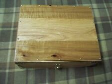 Pistol Presentation Case Solid Oak display Box  For Commander  and Clones # 4