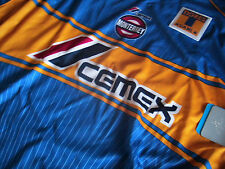 Team Tigres Mens Official Soccer Jersey Atletica Size XL Blue 2005