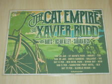 The Cat Empire & Xavier Rudd - 2017  Australian Tour Laminated Promo Poster