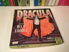 "Dracula Super 8mm Film Castle Films #1023 Vampire Horror 5"" Reel Bela Lugosi"