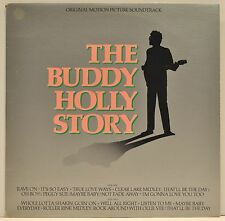 """THE BUDDY HOLLY STORY - """"Original Motion Picture Soundtrack"""" - Epic SE35412 - NM"""