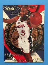 1996 Fleer USA Special Issue   Grant Hill MASTERS OF THE GAME #32  Duke
