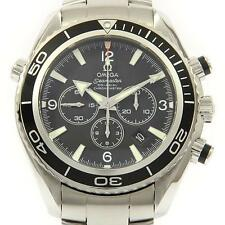 Authentic OMEGA REF. 2210 50 Seamaster Planet Ocean Chrono Automatic  #260-00...